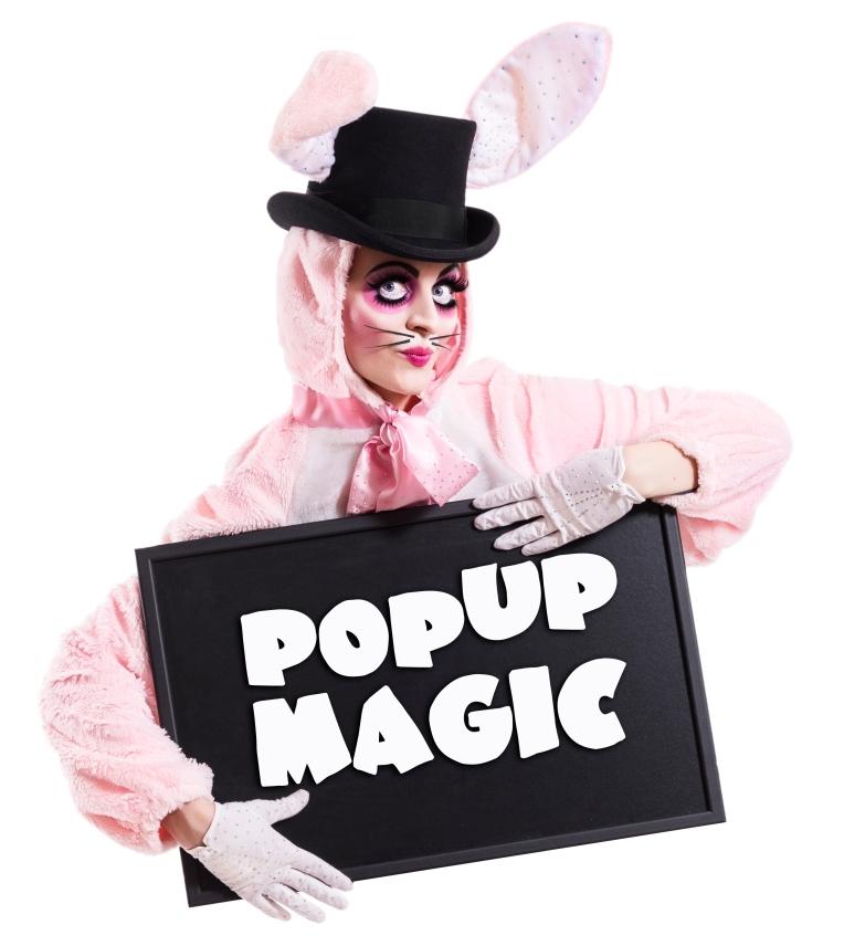 Pop Up Magic, Foto: Verena Gremmer, Model: Ruby Tuesday Burlesque